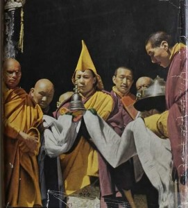 14th Dalai Lama , Dromo Tibet in 1951