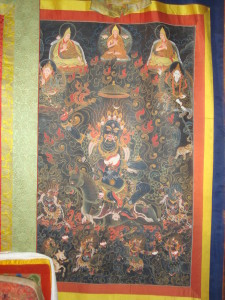 Kali Devi, main protector of the successive Dalai Lamas