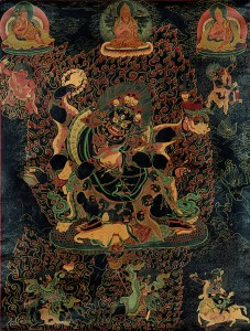 Mahakala, one of the three main protectors of Geluk